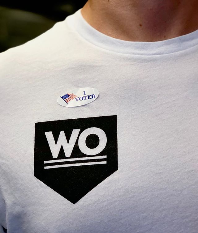 """🇺🇸 #WOvoted did you?  Comment """"👍🏽"""" if you did!😄 . . . . #iVoted #Electionday #VoteToday"""