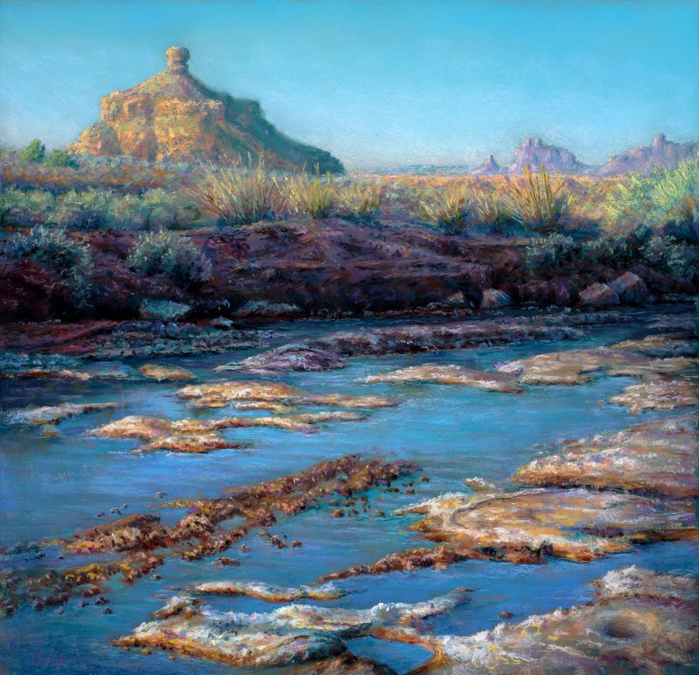 Alkali and Water (Valley of the Gods)$1045