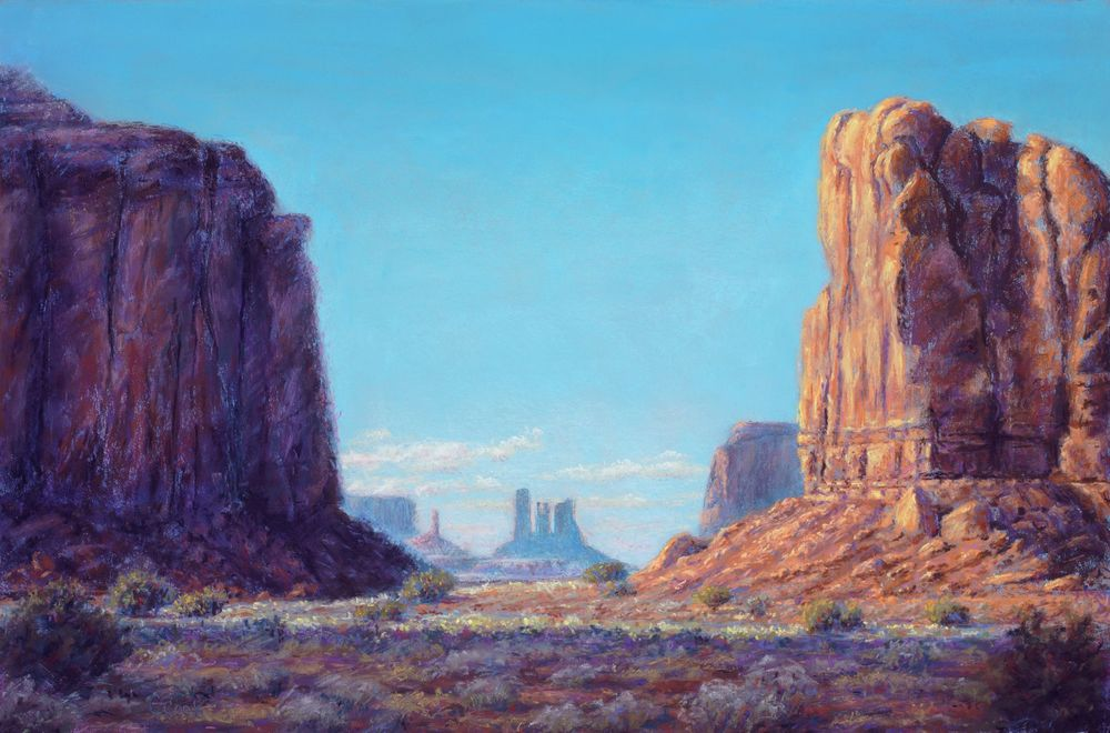 Gateway to the King $1300 - @Artifacts Gallery 505-327-2907