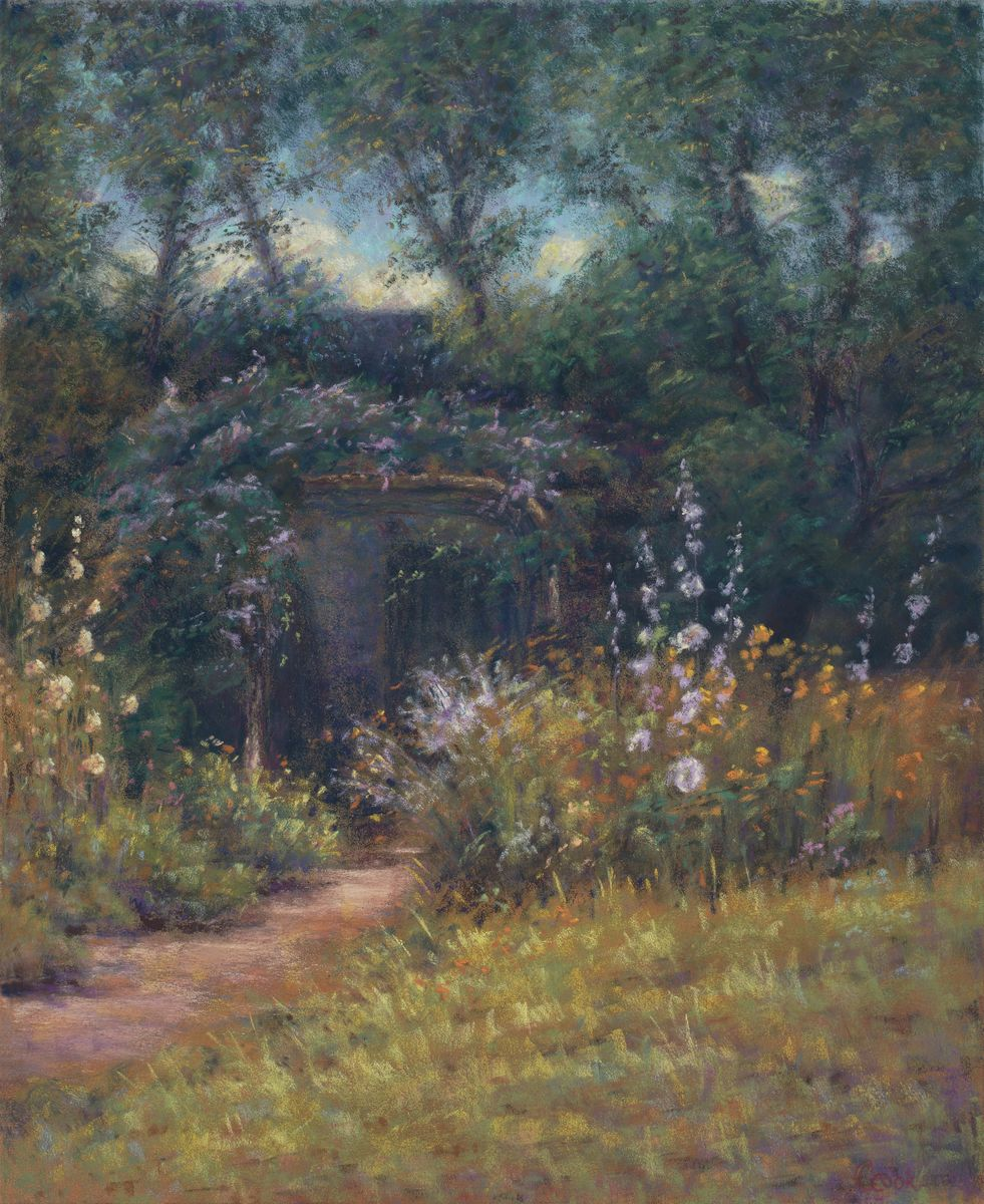 Old Fashioned Garden $850 - @ Howa Gallery 801-232-5718