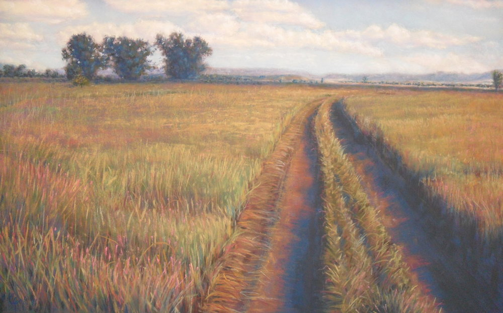 My Kind of Road; 3rd place in the Intermountain Society of Artists Fall Show, 2014