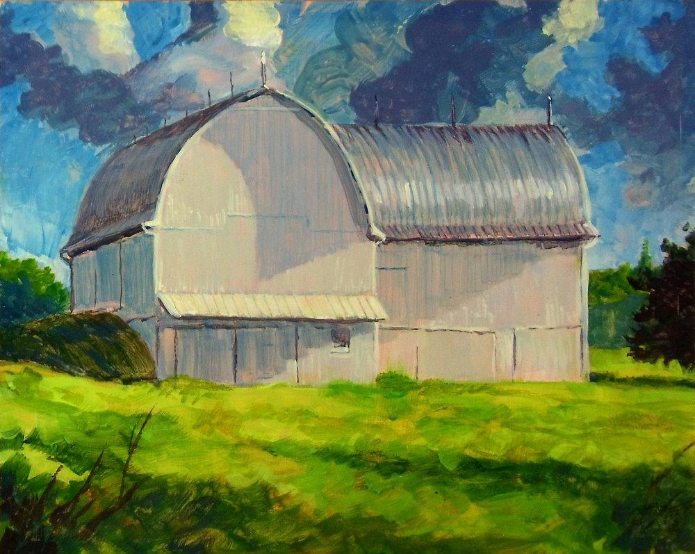 Barn at Freer Field - Early Morning - 2018