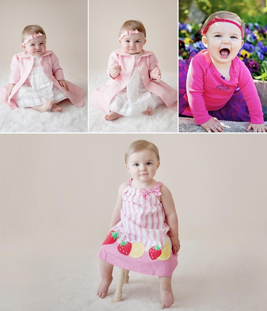 Newborn pictures, 3-month pictures, 6-month pictures, 9 month pictures, one year pictures
