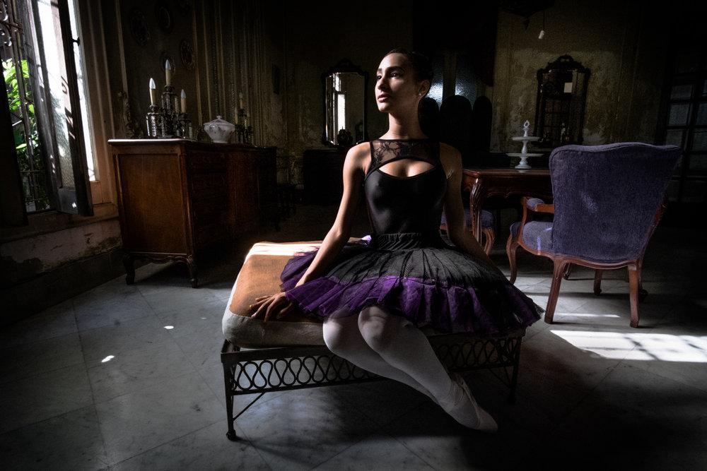 Ballerina in Havana