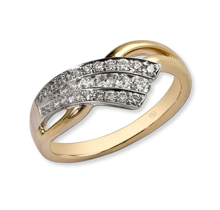 Ladies diamond fashion ring. Gottlieb & Sons 27517B*