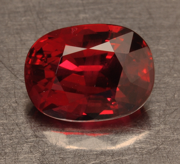 3.25 ct. ruby.