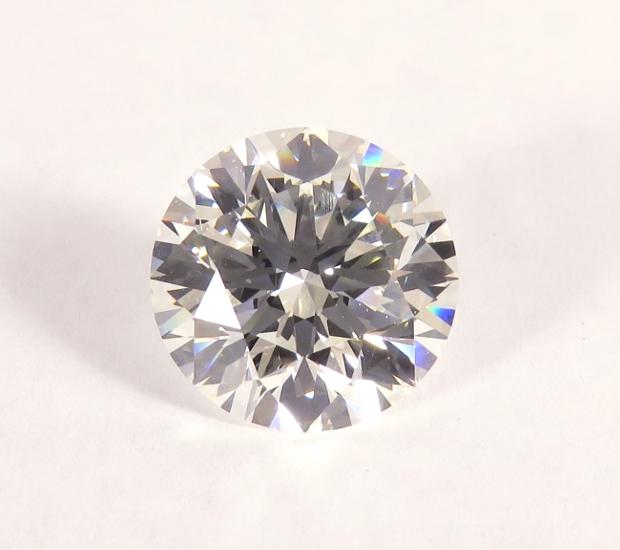 5 ct. round brilliant diamond.