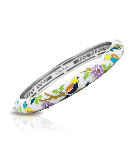 Constellations: Songbird White Bangle