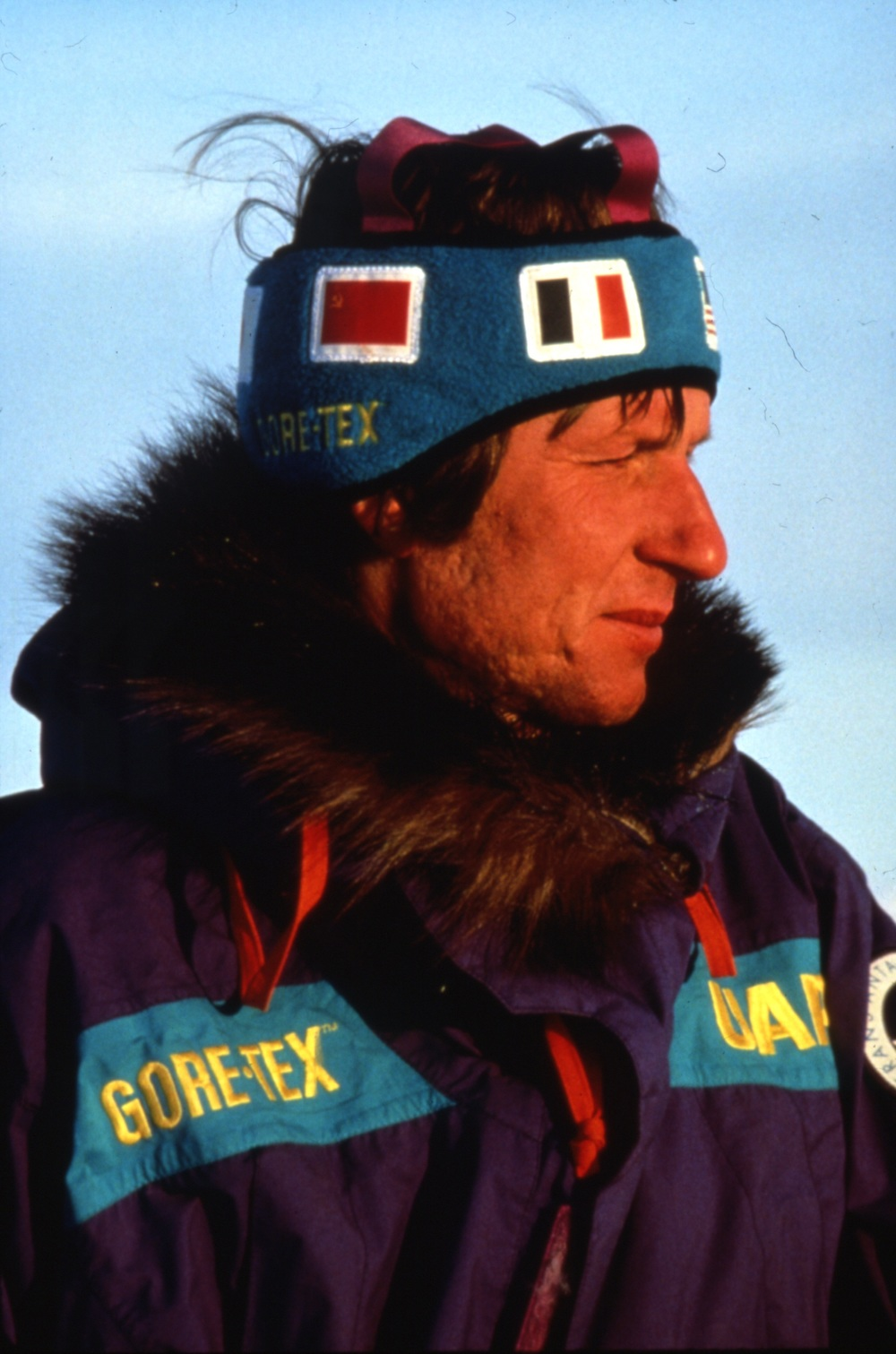 Trans-Antarctica team member Victor Boyarsky, representing the USSR. ©Trans-Antarctica, photo by Per Breiehagen