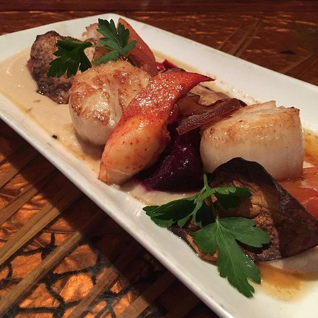 Beautiful and delicious too! #scallops #fireflygrillenashville #nashvillerestaurant #nashville #greenhills #bandywood #nashvillefood #locallyowned