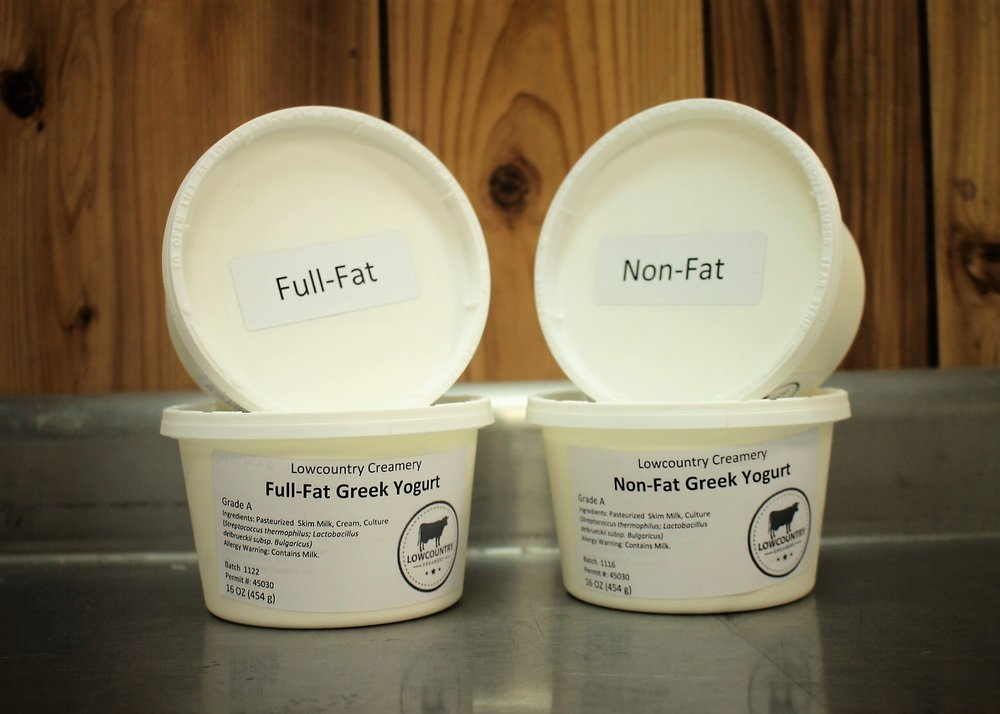 "Greek Yogurt - Greek Yogurt is yogurt that has been strained to remove the liquid whey, resulting in a thicker, creamier consistency. The straining process concentrates the milk solids, resulting in over twice the protein content, and removes some of the lactose, which decreases the carbohydrate content.""Greek Style"" yogurts have added stabilizers to replicate the thickness of Greek Yogurt, but do not provide the added nutritional benefits."