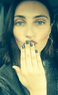The Gorgeous Hannah in ' Jet Set' Gellish
