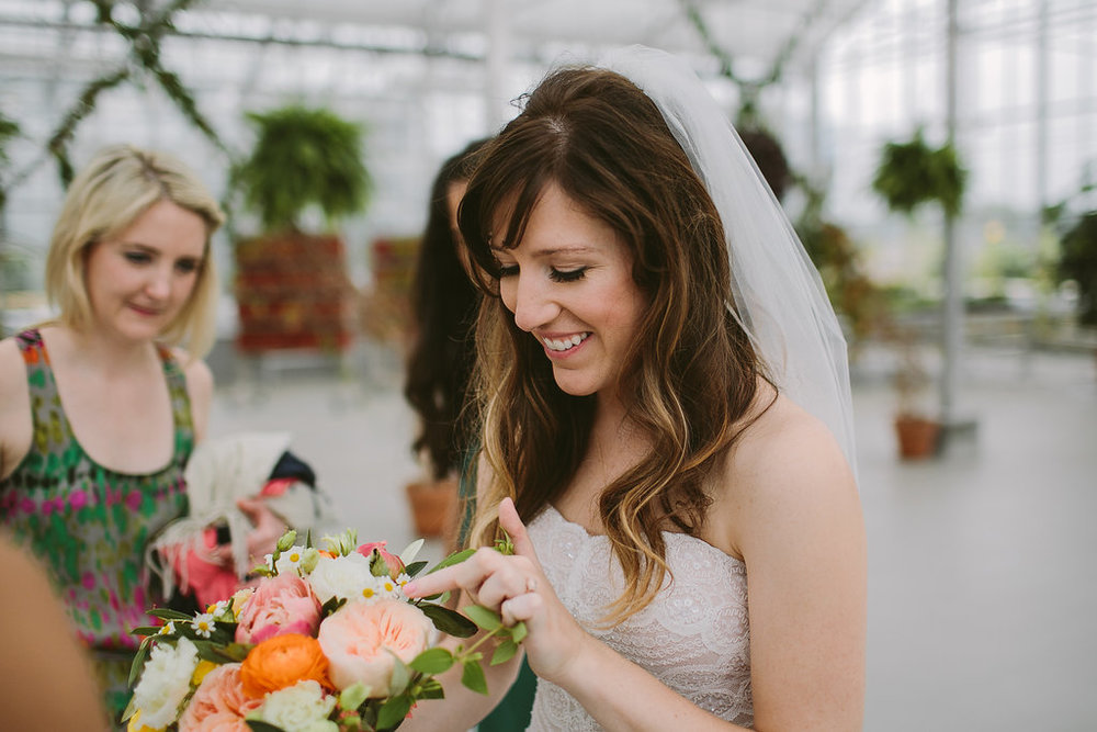 Grand Rapids Michigan Downtown Market Greenhouse wedding photos