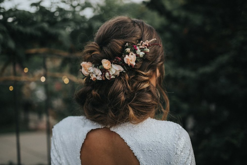 Overgrowth Floral Hair Flowers