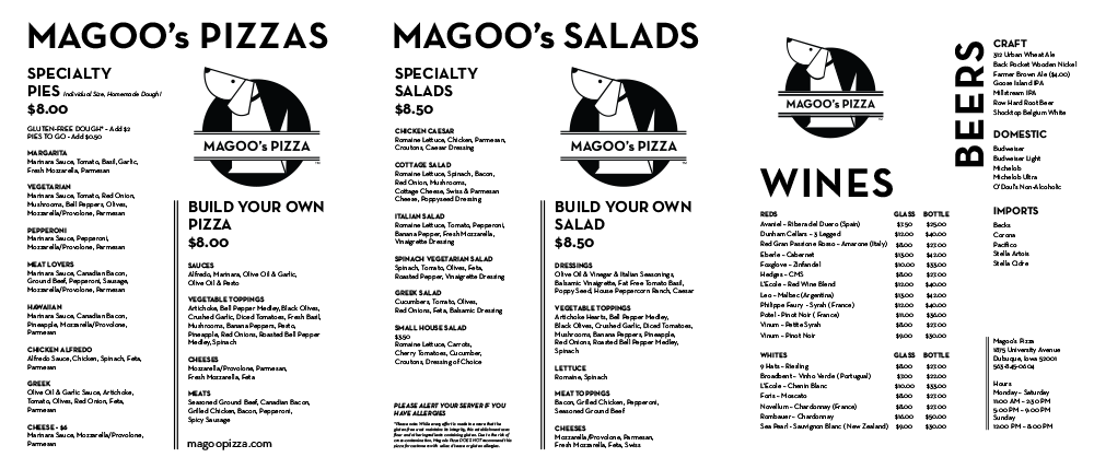 Download Our Full Menu