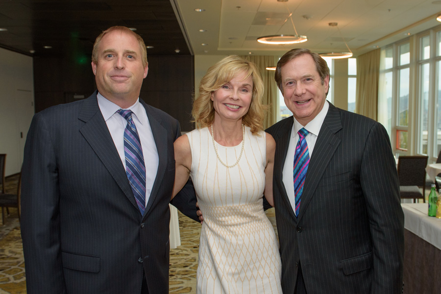 Steve Roselli (Harsch Investment Properties), Susanne Orton (Harsch Investment Properties), Jordan D. Schnitzer