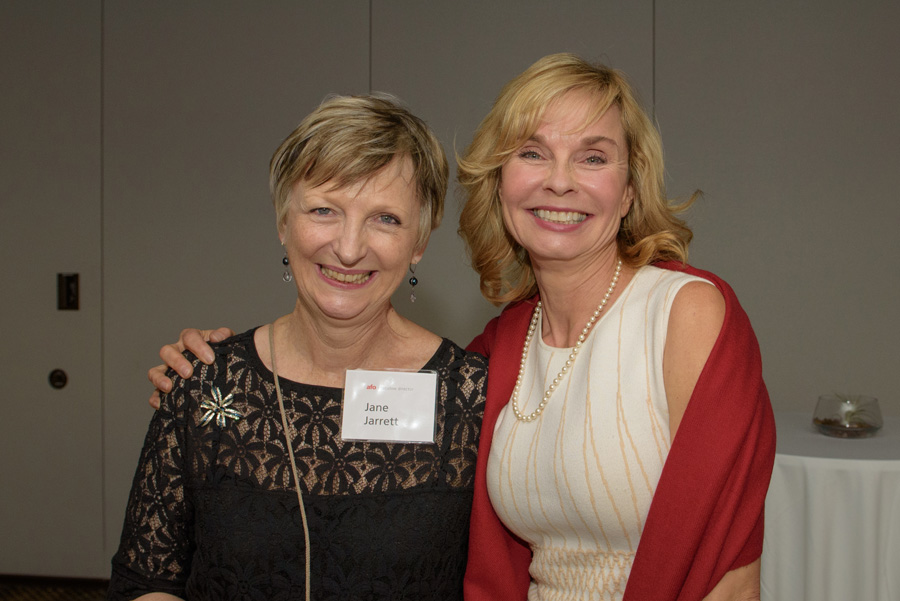 Jane Jarrett (AFO), Susanne Orton (Harsch Investment Properties)