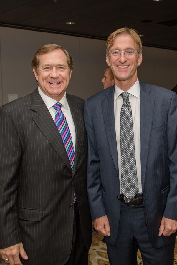 Jordan D. Schnitzer, Ted Wheeler