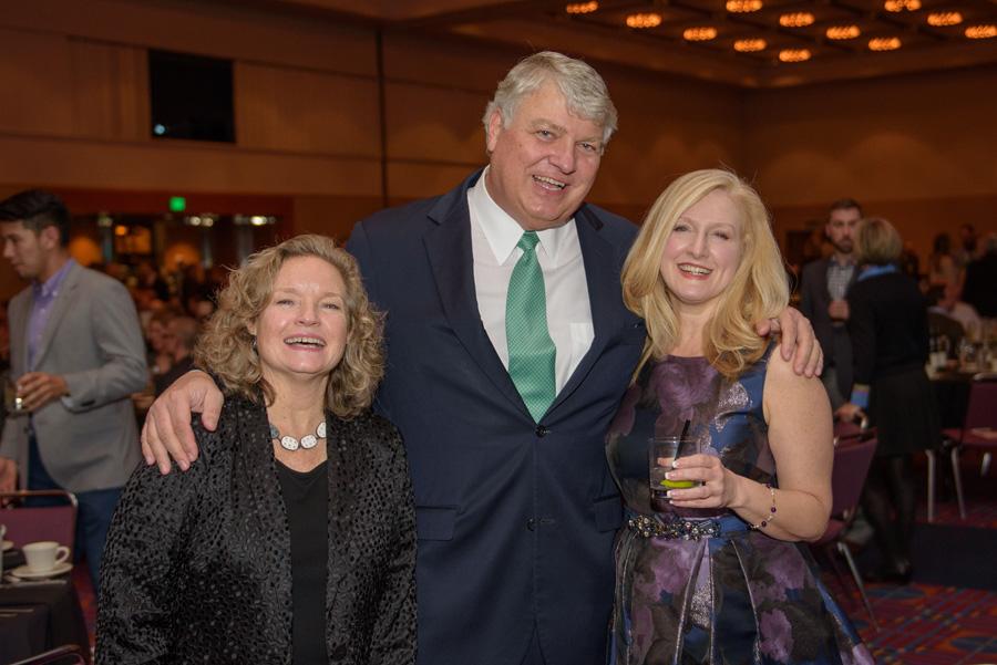 Denise Mullen (Oregon College of Art and Craft), Robert Nunn, Lisa Rummel (Harsch Investment Properties)