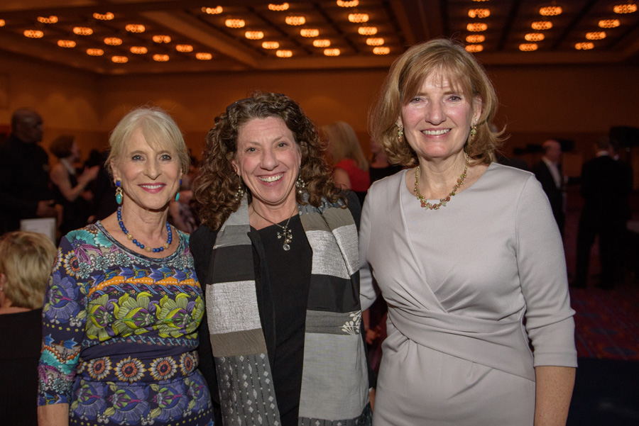 Lorraine Rose, Barb Hall (Harold & Arlene Schnitzer CARE Foundation), Kandis Brewer Nunn