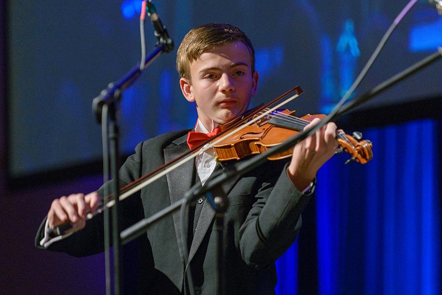 Violinist John Fawcett