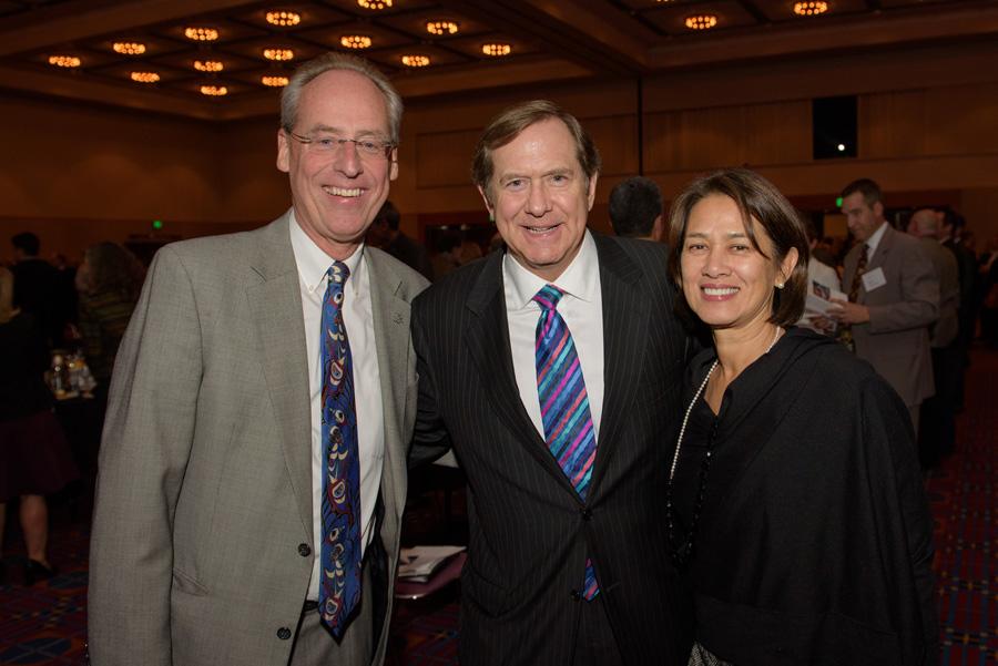 Wim Wiewel (Portland State University), Jordan D. Schnitzer, Alice Wiewel