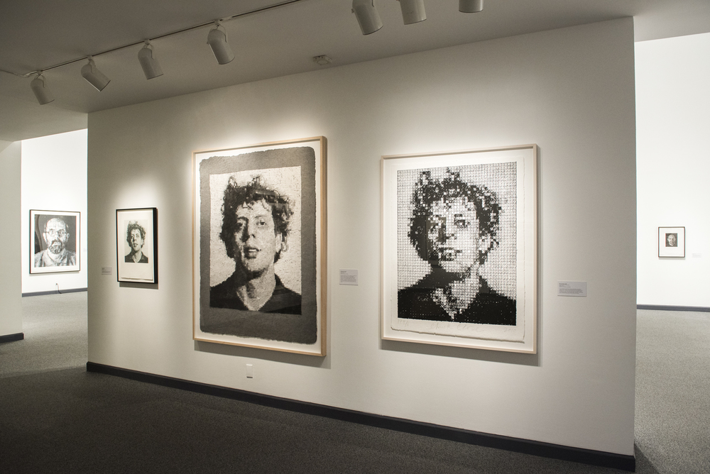CHUCK CLOSE: FACE FORWARD