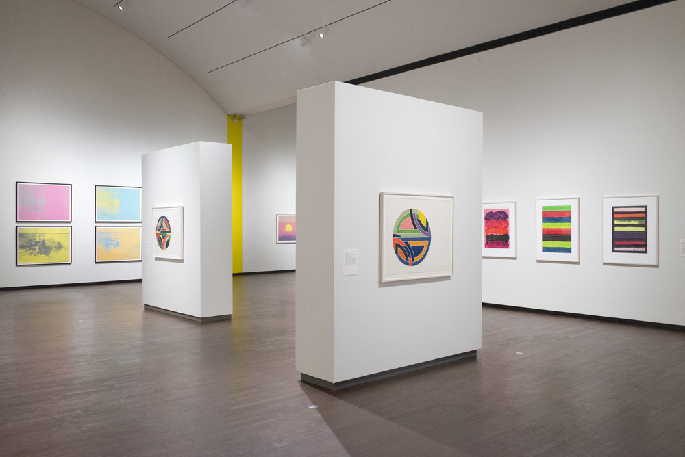 IN LIVING COLOR: ANDY WARHOL AND CONTEMPORARY PRINTMAKING