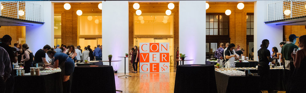Converge 45 at PNCA in Portland, Oregon, 2016. Photo credit: Mario Gallucci