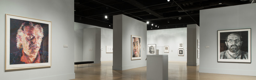 Chuck Close: Works on Paper // Oklahoma City Museum of Art, 2013