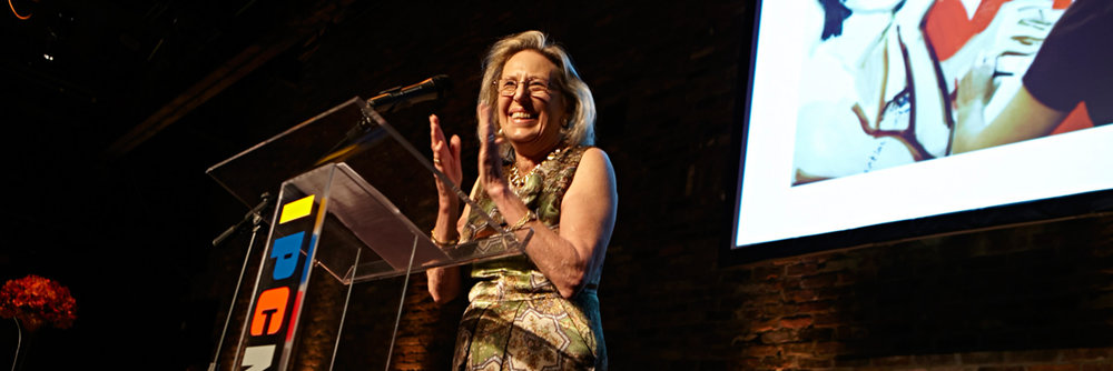 Anne Coffin, IPCNY Founding Director, at the IPCNY Spring Benefit, 2014