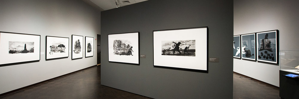 Emancipating the Past: Kara Walker's Tales of Slavery and Power // Jordan Schnitzer Museum of Art, 2014