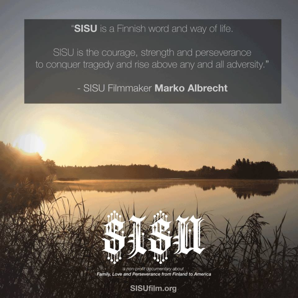 WHAT IS SISU - MARKO ALBRECHT