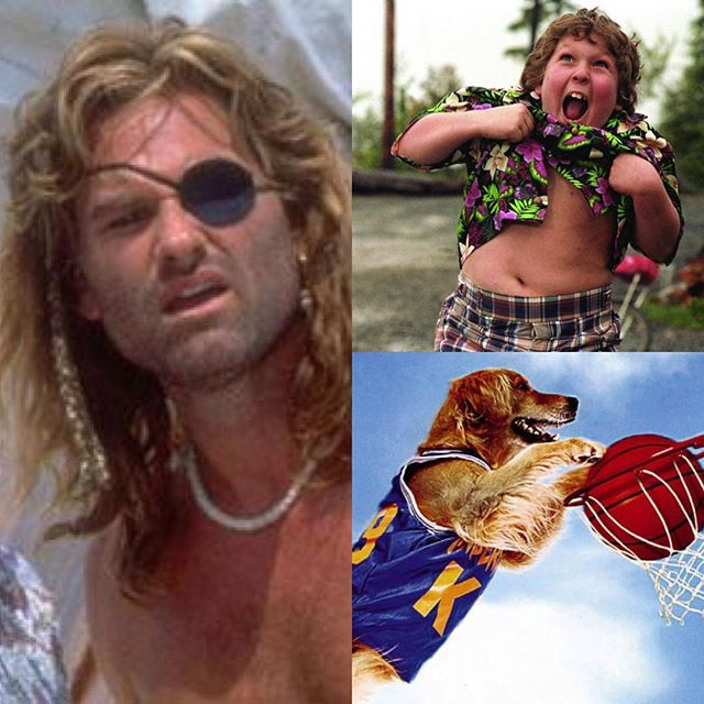 Three fictional characters? #captainron #airbud #chunk