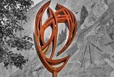 "$PRICE    2009, Medium: Welded Steel.   Dimensions: 13' x 4' x 8"""