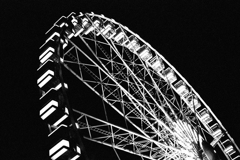 Paris in black and white seen by Hannah & Joel
