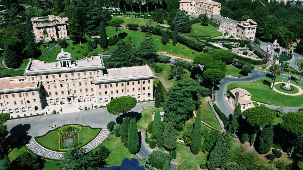 View of the Papal Residency