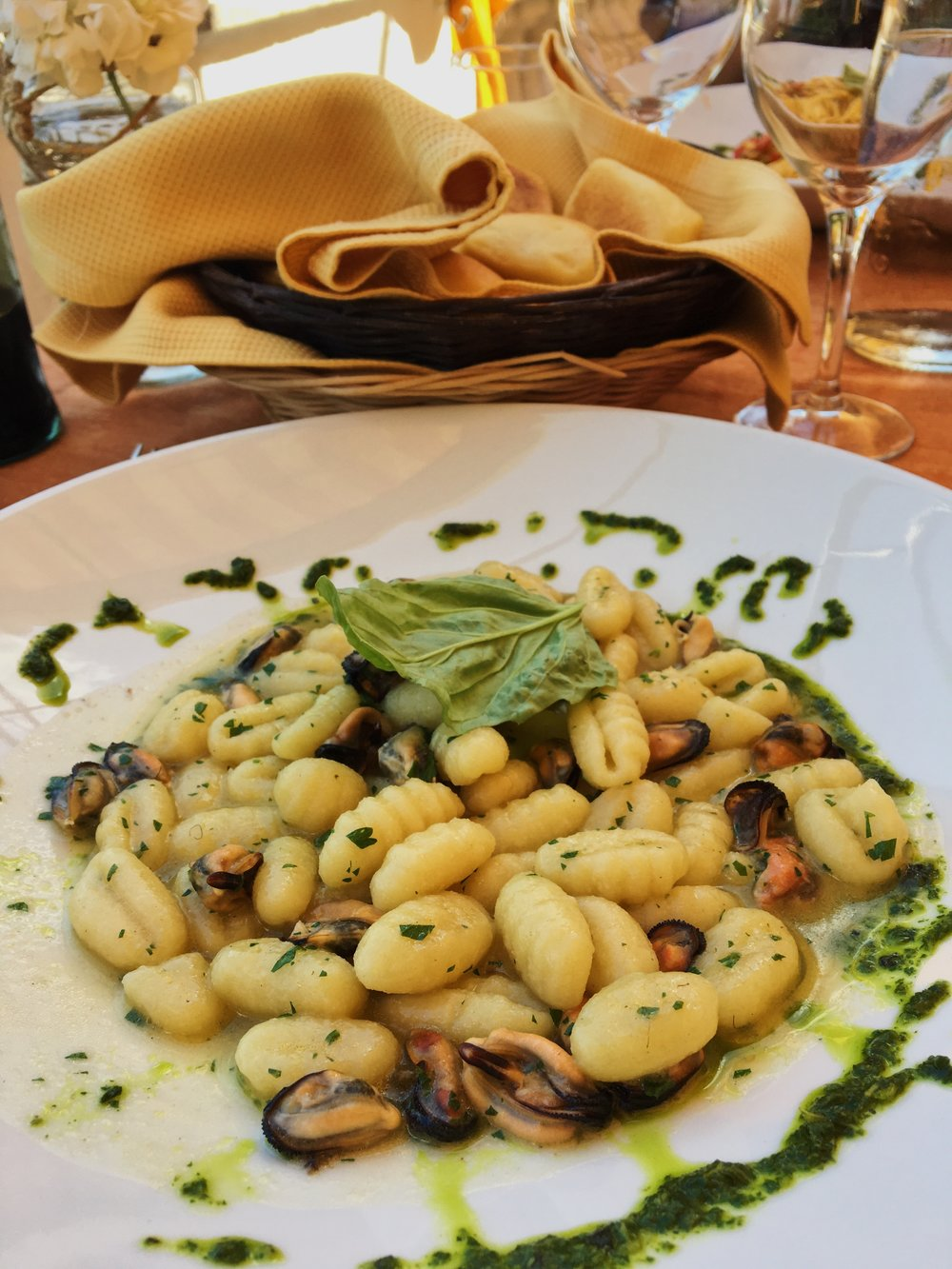hotel scapolatiello has a great in house selection of food, made with local produce