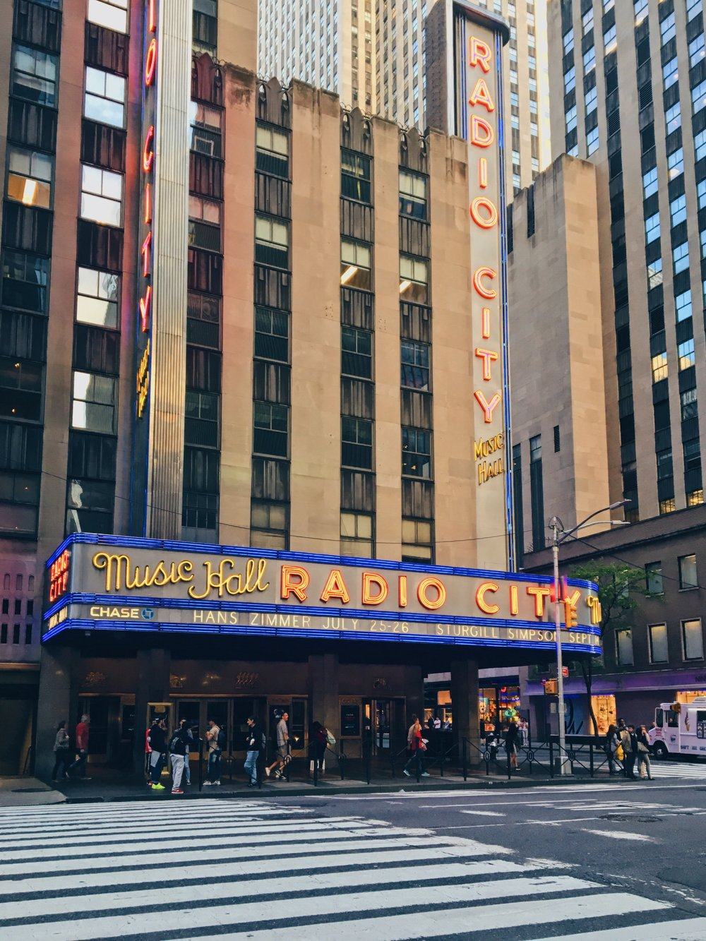 radio city hall, venue for the most iconic musicians