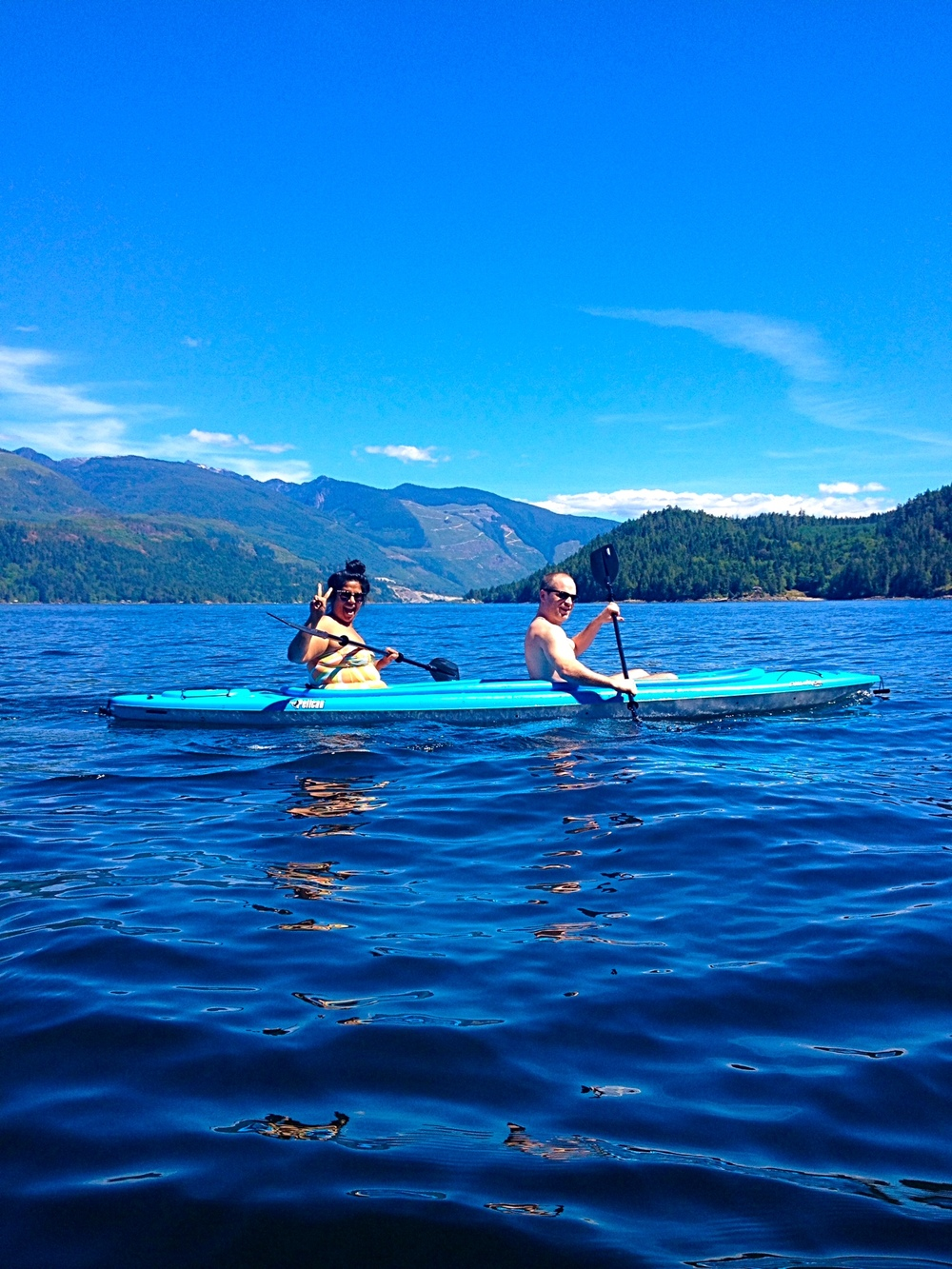 rent a double kayak, explore hidden coves and beaches