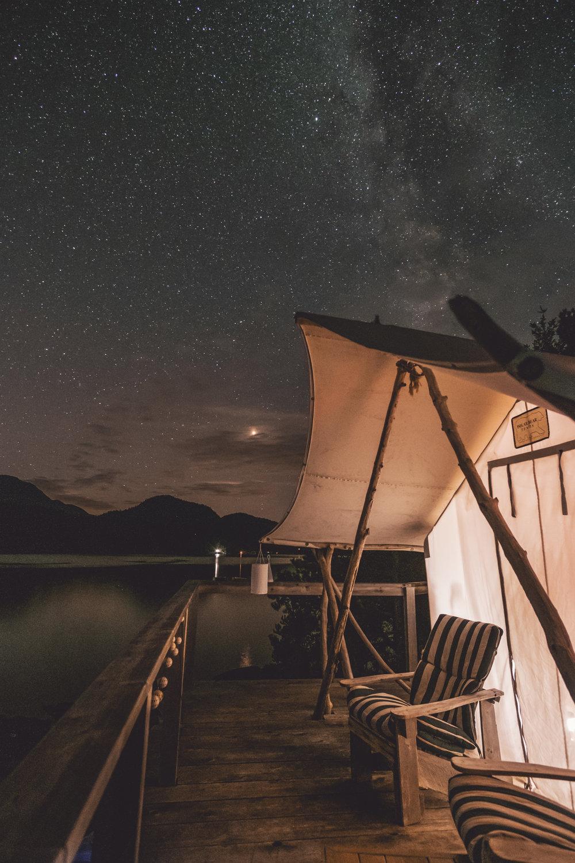 Tent Cabin -