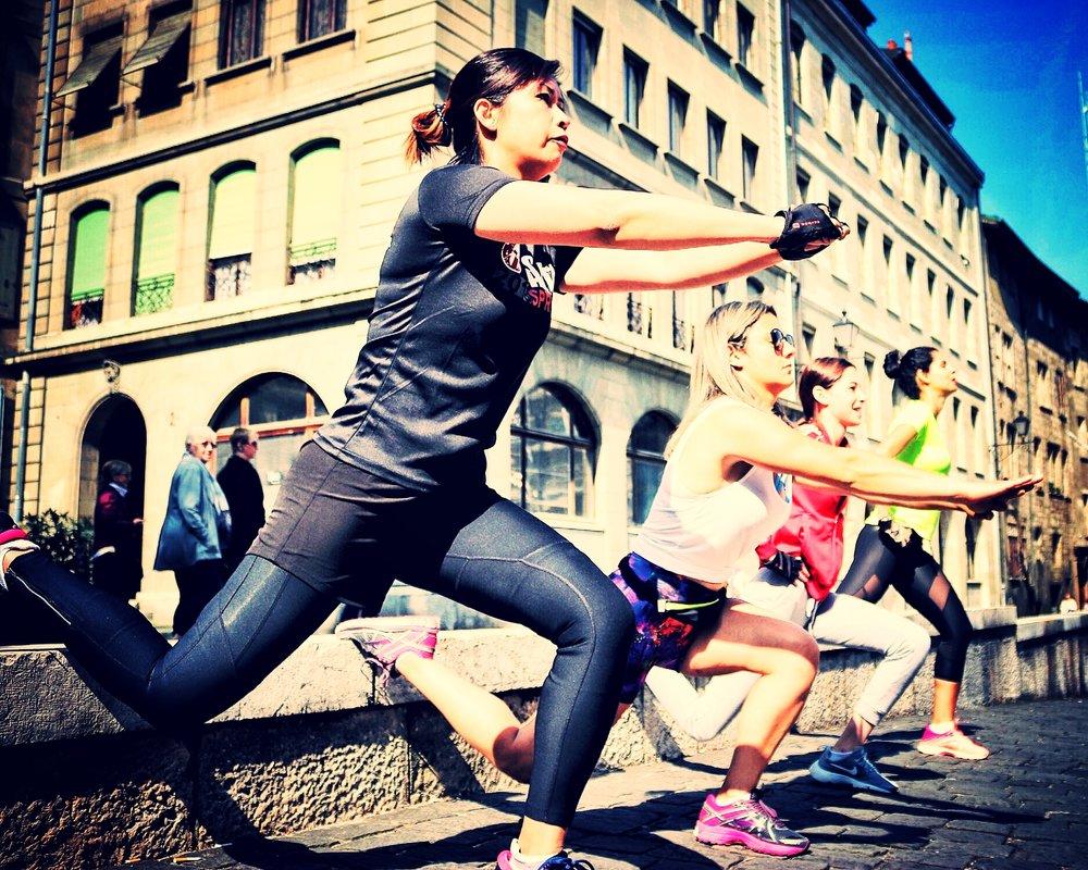 Urban Spartan Bodyweight Workout - Samedi 10h00Parcours Vita revisité au coeur de la vieille ville.