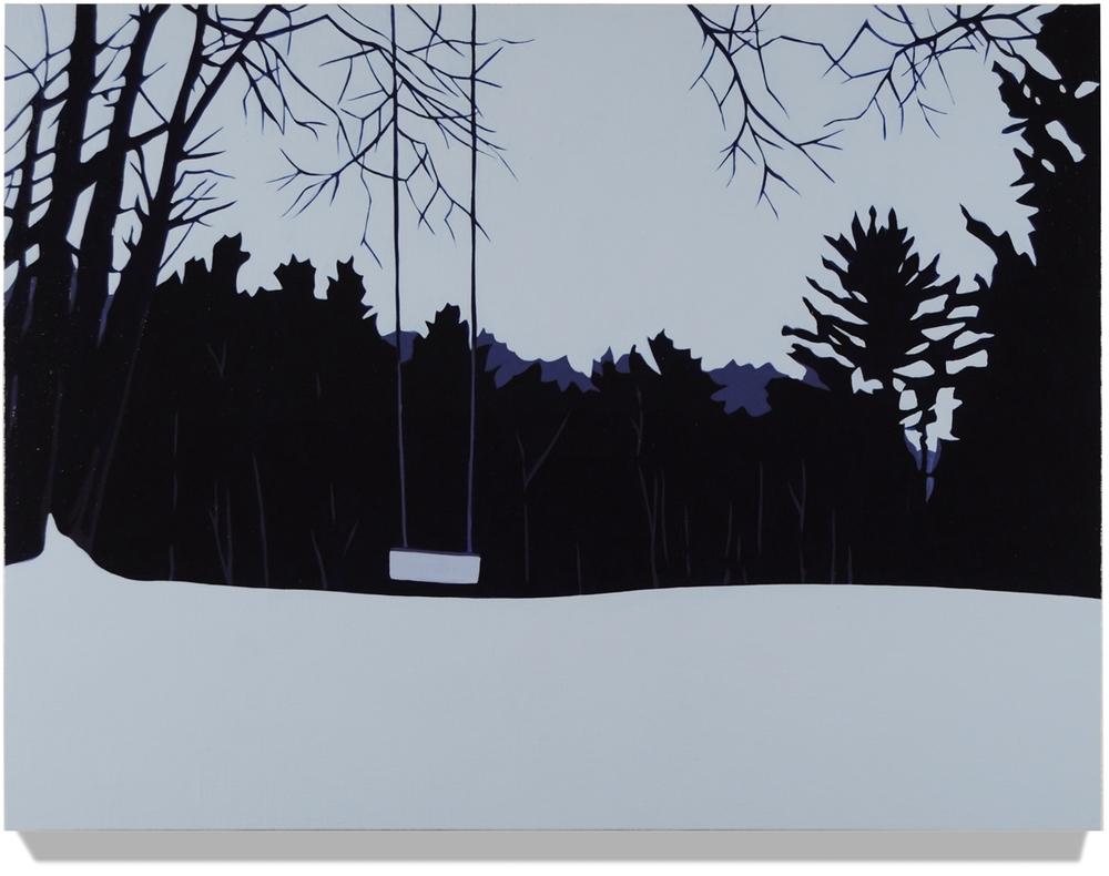 Swing, 2014, 18 x 24, Oil on linen