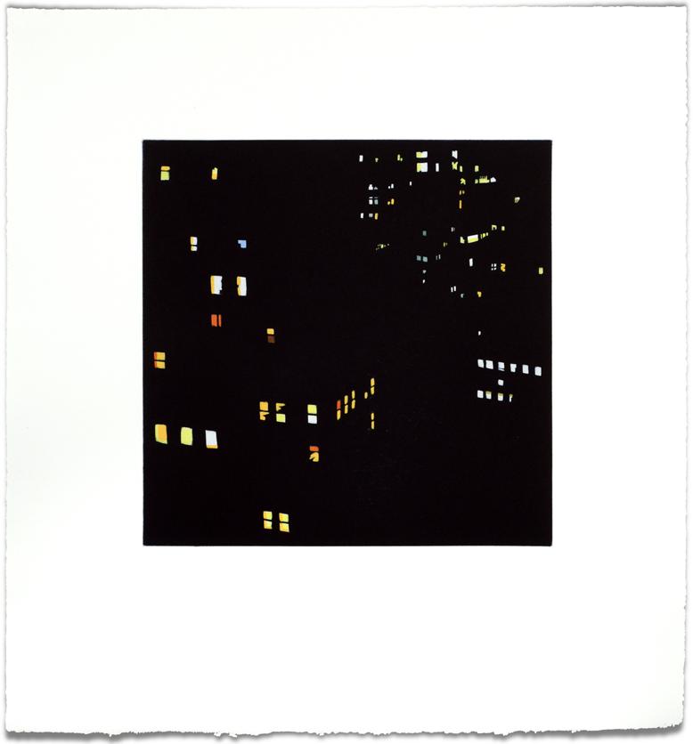 New Amsterdam No. 1, 2014, 21 x 19.5, (paper size)