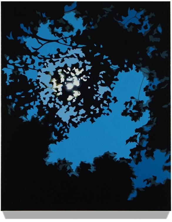 Night Sky, 2013, 24 x 30, Oil on linen