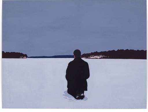 Frozen,2012,15x 20, Oil on paper