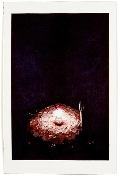 Lantern, 12 x 8, watercolor on paper