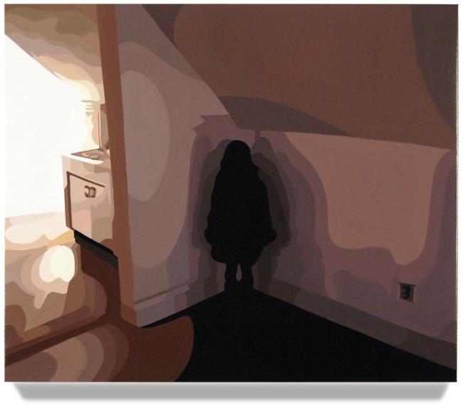 Girl in Corner,2008, 20x 24, Oil on linen