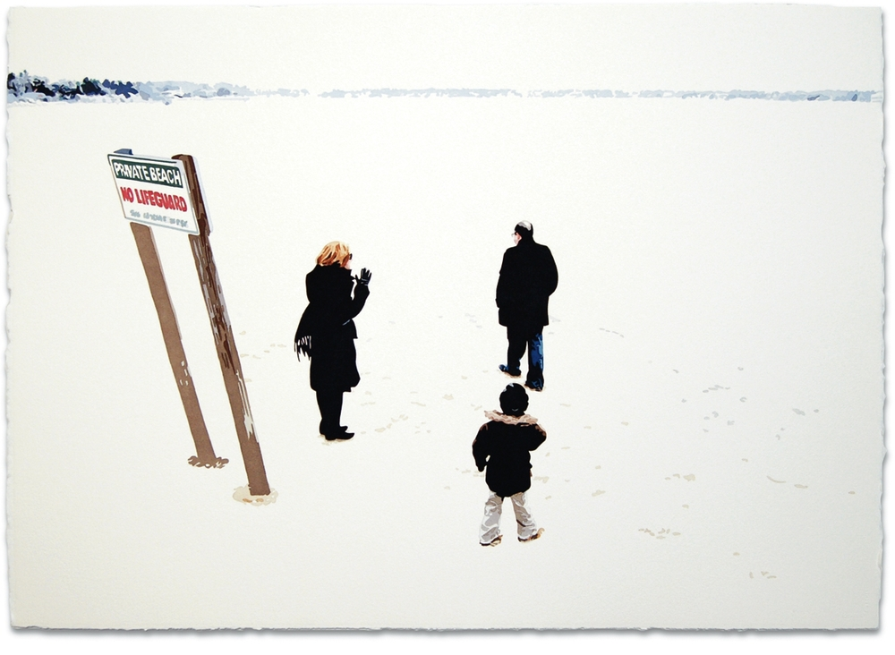 Family,2008, 29 x 41, Watercolor on paper