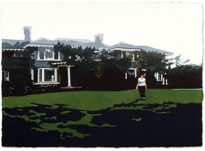 Foster Crampton Cottage,2006, 29 x 41, Watercolor on paper